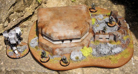 Bunker - Vue avant